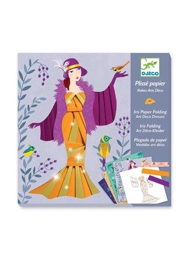 Djeco Djeco Kağıt Çalışmaları / Art Deco Dresses Pembe